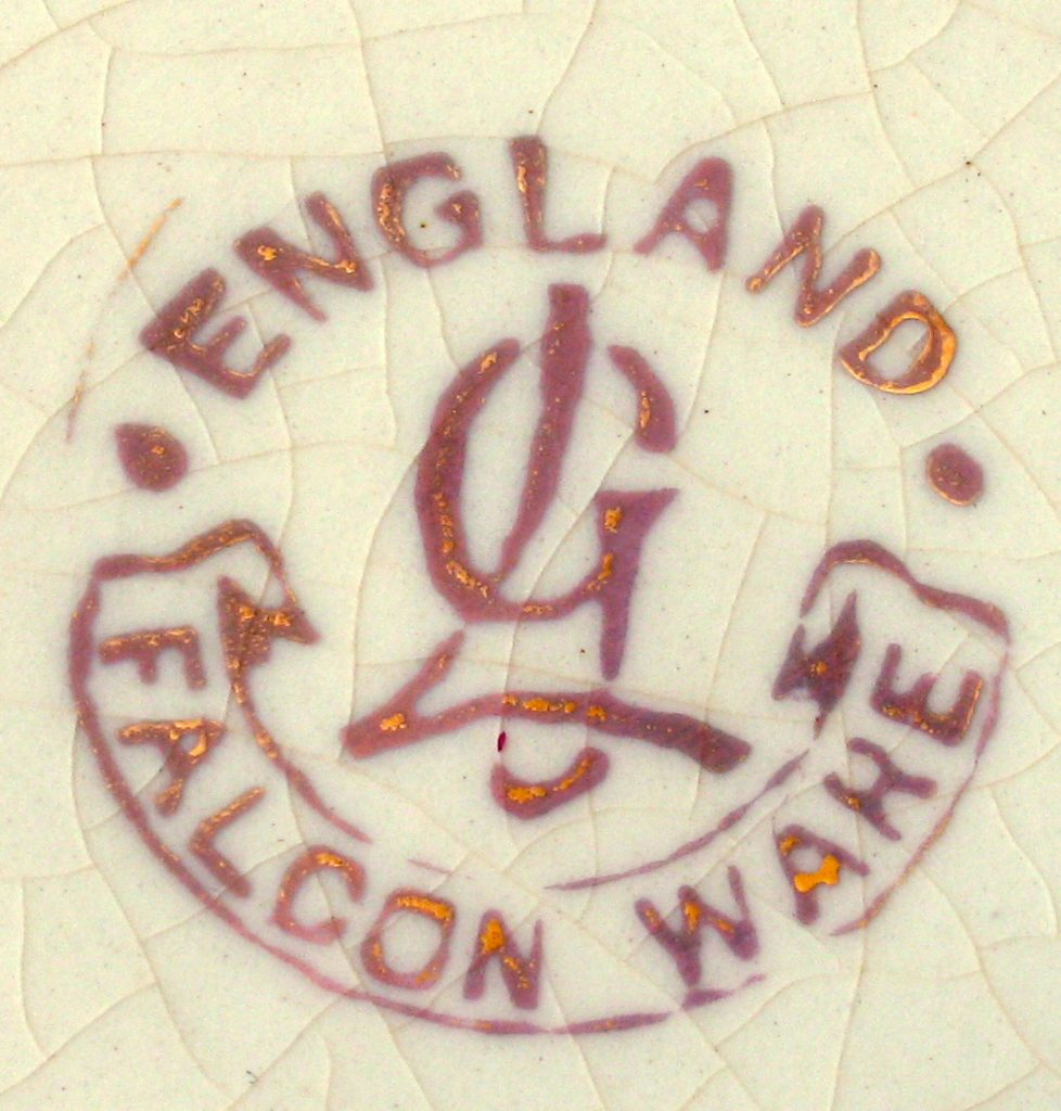 Lawrence e Grundy Falcon Ware England